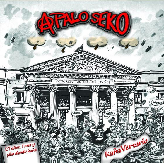 KañaVersario nuevo disco de A PALO SEKO ya a la venta en tiendas y plataformas digitales