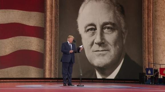 Image result for trump portsmouth fdr prayer
