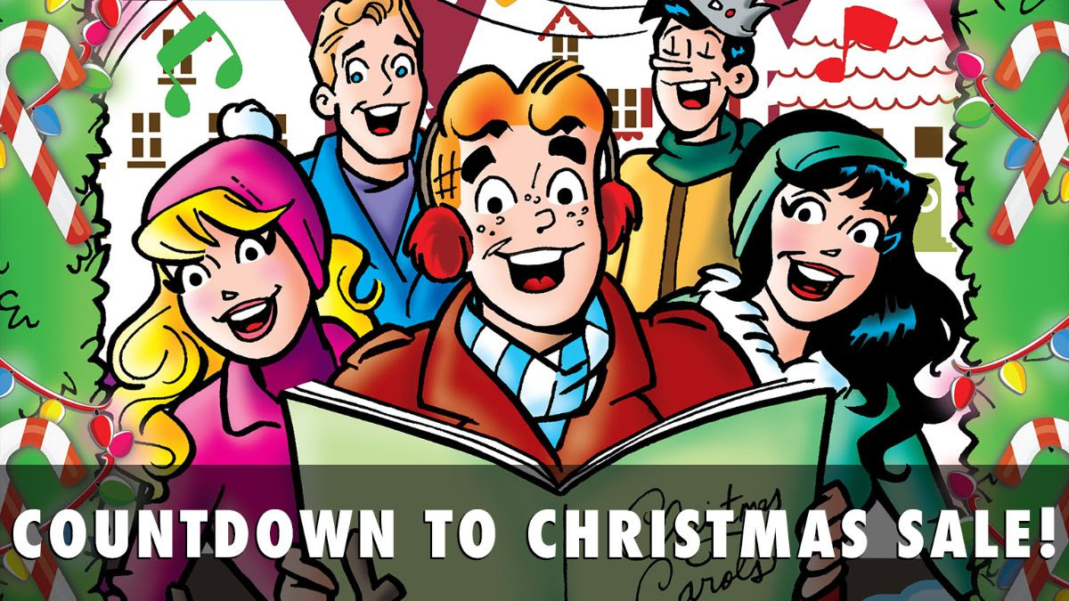 Archie Countdown to Christmas Sale!