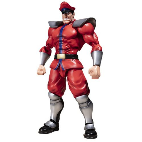 Image of Street Fighter M. Bison S.H.Figuarts Action Figure