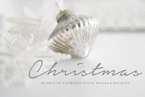Glamorous Christmas Images & Mockups