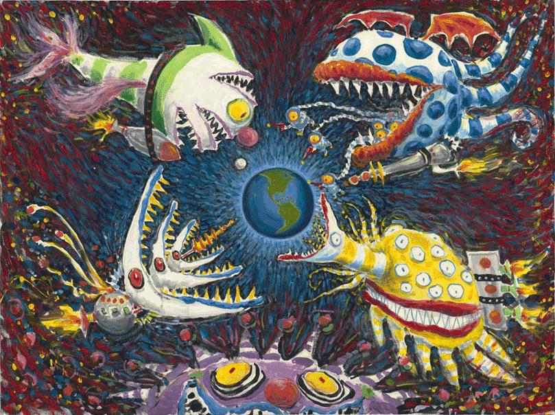 """Brasil recebe a exposição inédita apresentando """"The Art of Tim Burton"""""""