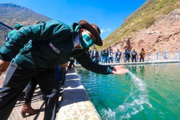Gobierno destinará S/ 305 millones para proyectos de riego y siembra y cosecha de agua