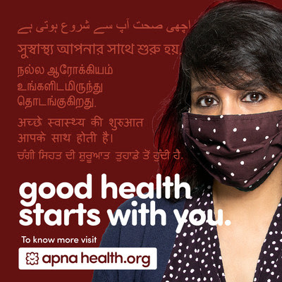 Apna Health collaborative, created in response to disproportionate COVID-19 cases in Peel's South Asian communities
