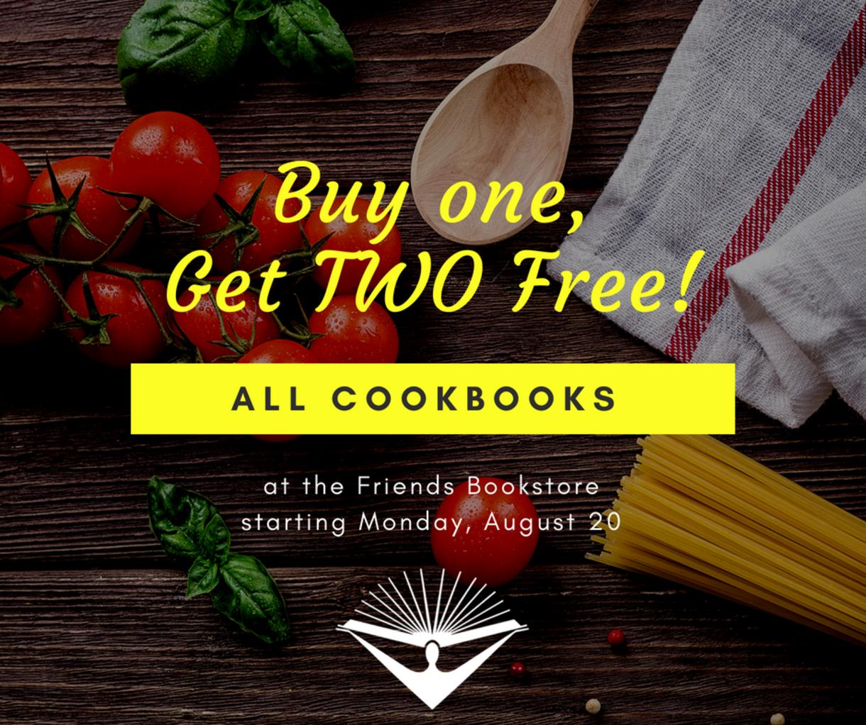 Friends Bookstore Cookbooks Sale