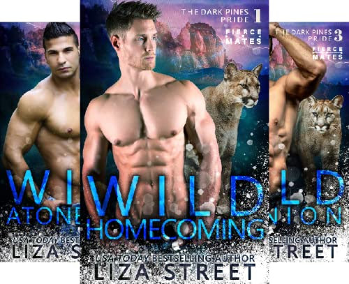Cover for 'Wild Homecoming (Fierce Mates: Dark Pines Pride Book 1)'