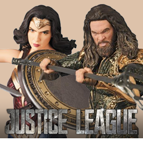 DC COMICS JUSTICE LEAGUE MAFEX