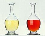 vinagre de vinho tinto e branco