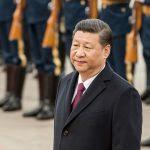 Le président chinois Xi Jinping à Pékin le 10 avril 2017. (Crédits : AFP PHOTO / Fred DUFOUR)