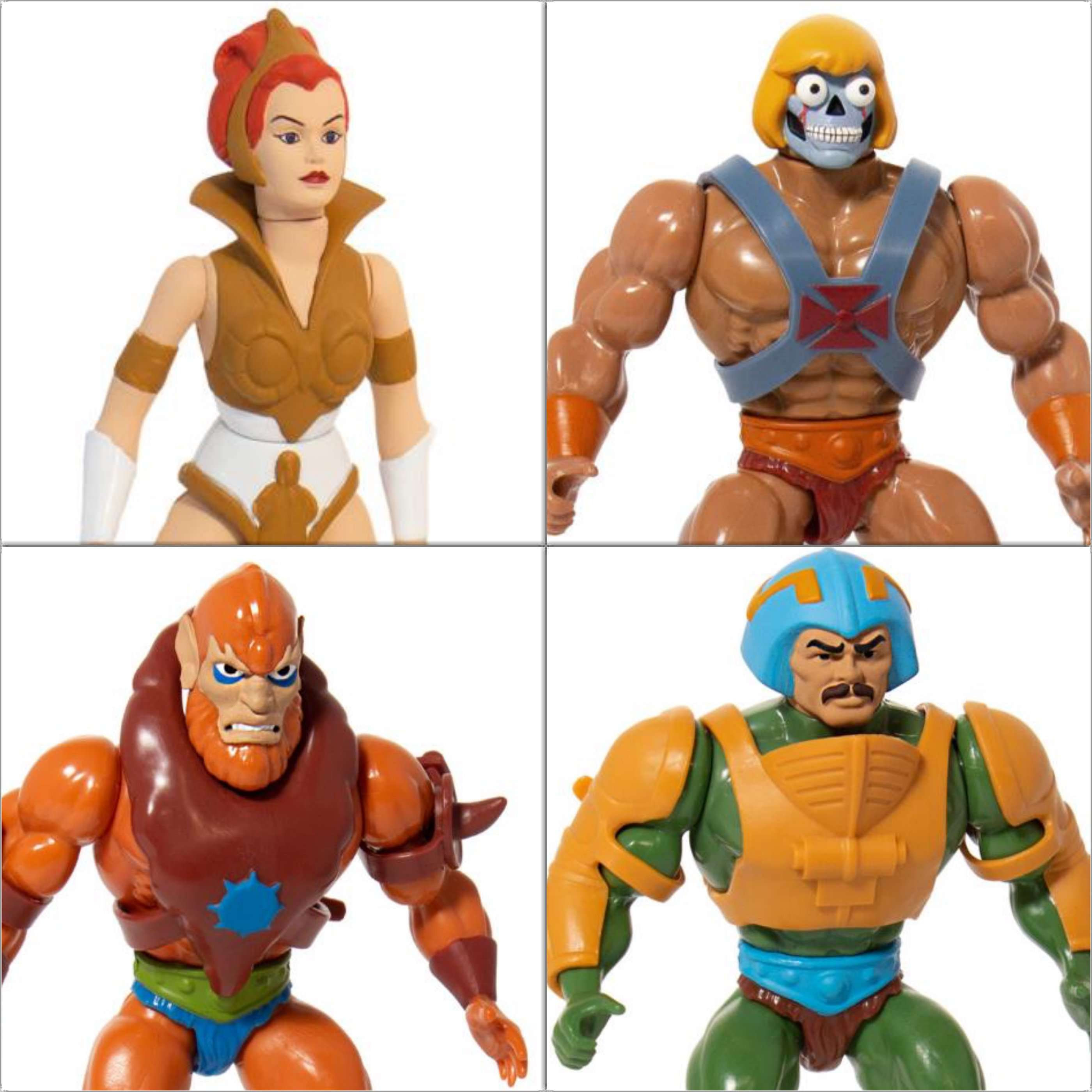 Image of Masters of the Universe Vintage Wave 2 - Set of 4 Figures - SEPTEMBER 2019