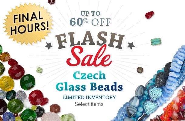 Czech Glass Bead Flash Sale
