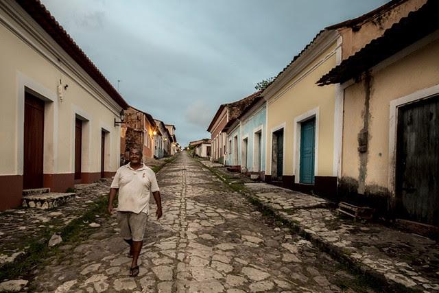 Ladeira do Jacaré, no centro da cidade de Alcântara, que concentra grande parte dos quilombolas do país - Créditos: Divulgação