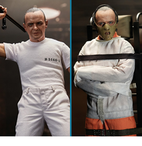 SILENCE OF THE LAMBS HANNIBAL LECTER 1/6 SCALE FIGURES