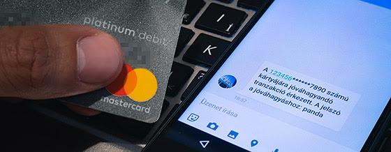 Online bankkártyás fizetés megerősítő kóddal szeptember 14-től