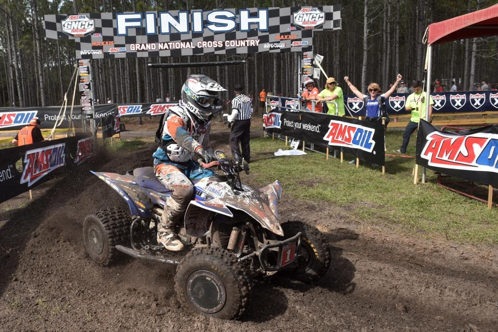 Walker Fowler extended his win streak to two-in-a-row at the Moose Racing Wild Boar GNCC.