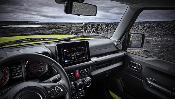 Cockpit Suzuki Jimny