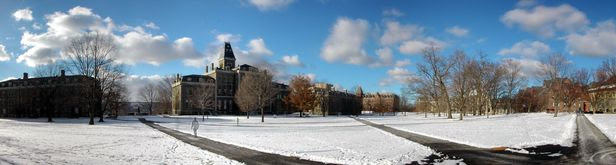 Cornell_Central_Campus_in_Snow