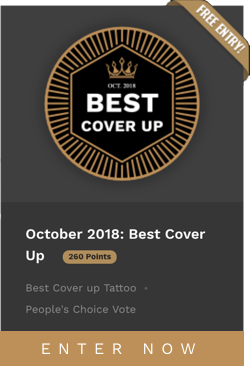 October 2018: Best Cover Up - ENTER NOW