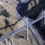 Le long de la nouvelle route de la Soie reliant la Chine à l'Europe via le Kazakhstan et la Russie (Gansu, Xinjiang, Région d'Almaty). (Crédits : Nicolas Sridi)