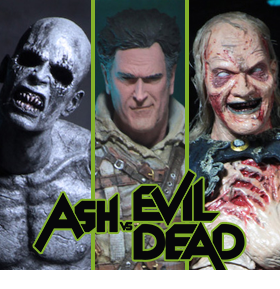 ASH VS EVIL DEAD SERIES FIGURES