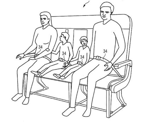 O mesmo assento também pode ser utilizado por uma família