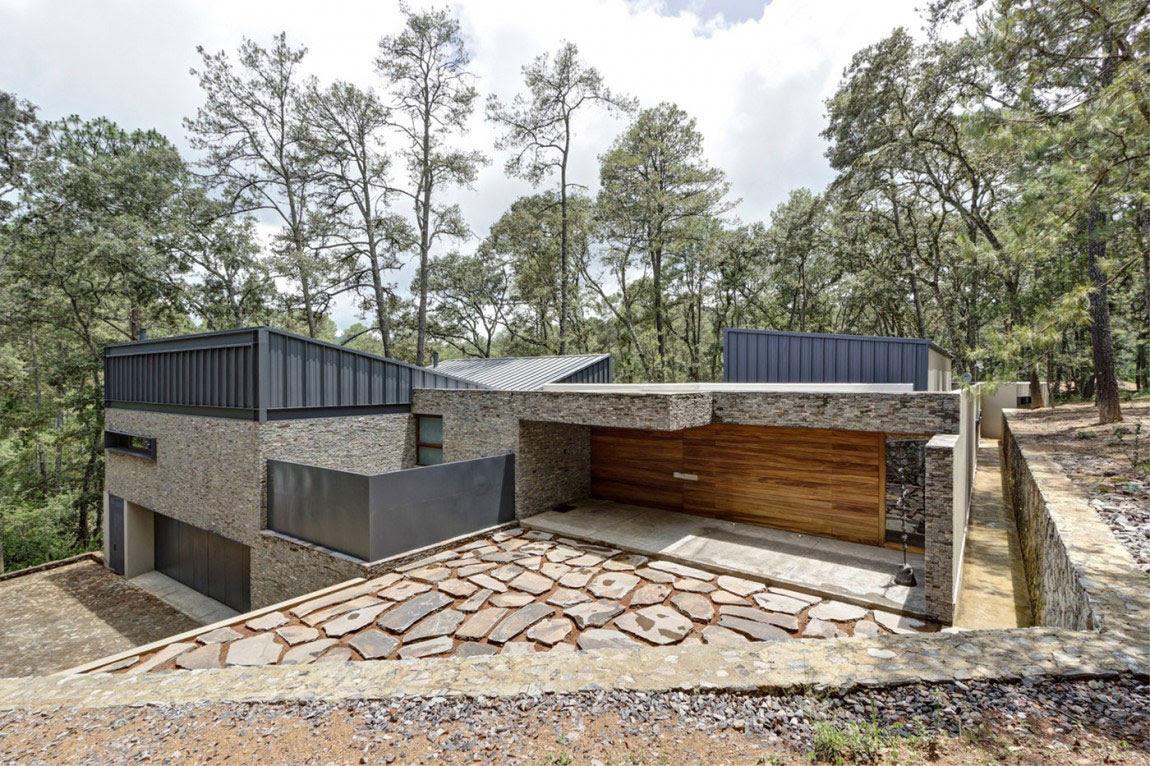 Όμορφη Casa ΜΜ με ένα σύγχρονο σχέδιο που δημιουργείται από τον Ηλία Ρίζο Arquitectos (1)