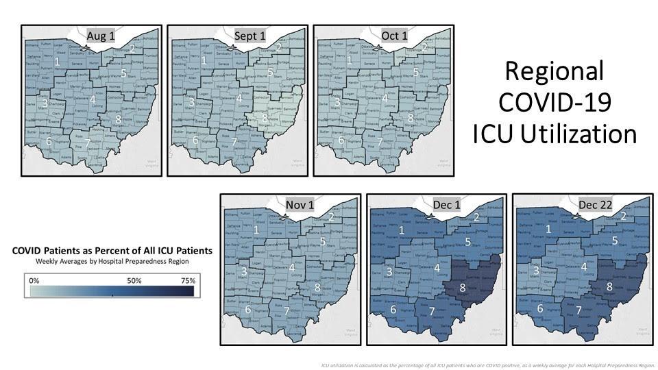 Regional COVID-19 ICU