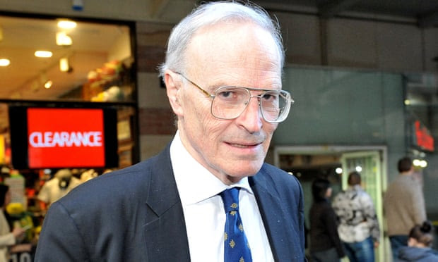 Dyson Heydon, commissioner for the royal commission into trade unions, was due to be the guest speaker at a Liberal party fundraiser later this month. Photograph: Joel Carrett/AAP