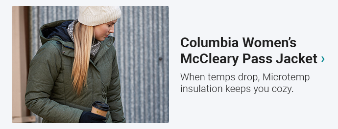 Columbia Women's McCleary Pass Jacket | When temps drop, Microtemp insulation keeps you cozy.