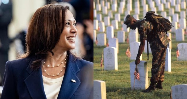 Kamala Harris Under Fire for 'Disrespectful' Tweet on Memorial Day Weekend- She Needs To Be Removed From Office NOW