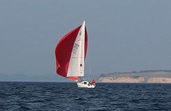 J/80 women skipper- sailing Silverrudder Challenge