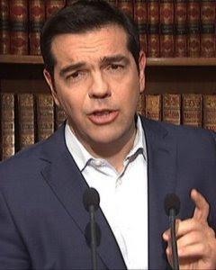 El primer ministro griego, Alexis Tsipras. - AFP