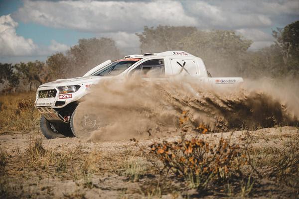 Adroaldo Weisheimer e Fred Budtikevitz garantiram a primeira posição nos carros (Virginio Cruz/PhotoAction)