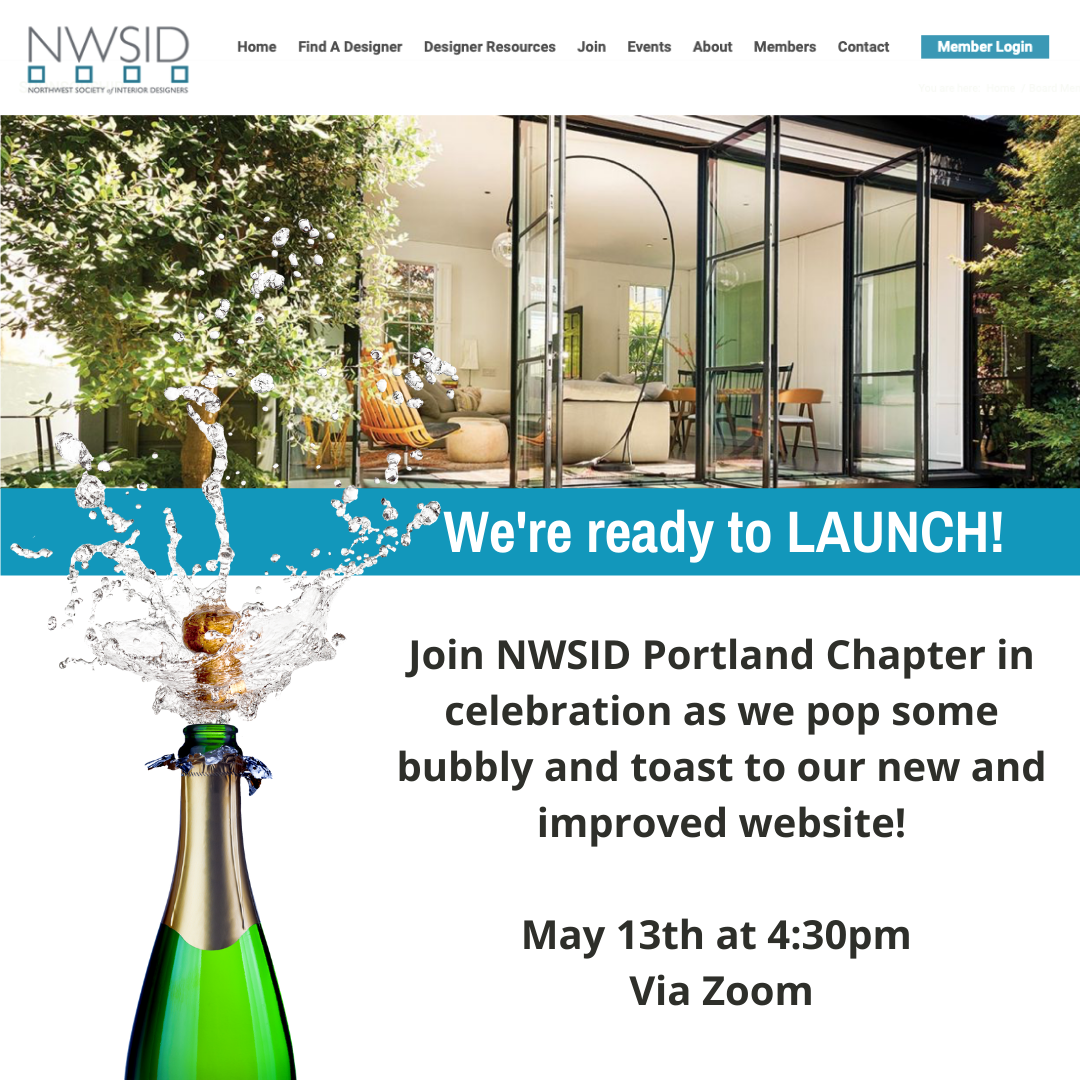 Website Launch Party w/ NWSID Portland!