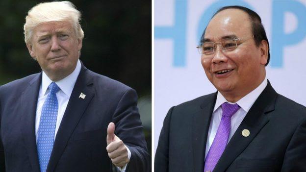 Thủ tướng Việt Nam Nguyễn Xuân Phúc đi thăm Mỹ 30-31/5/2017