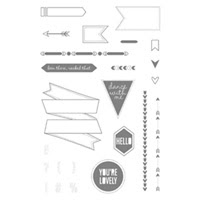 Show Tell 1 Photopolymer Stamp Set