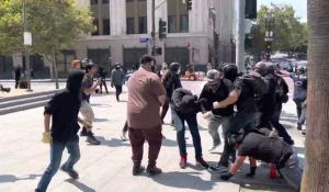 Antifa Gets Beat Down by Patriots During California Rally (VIDEO)