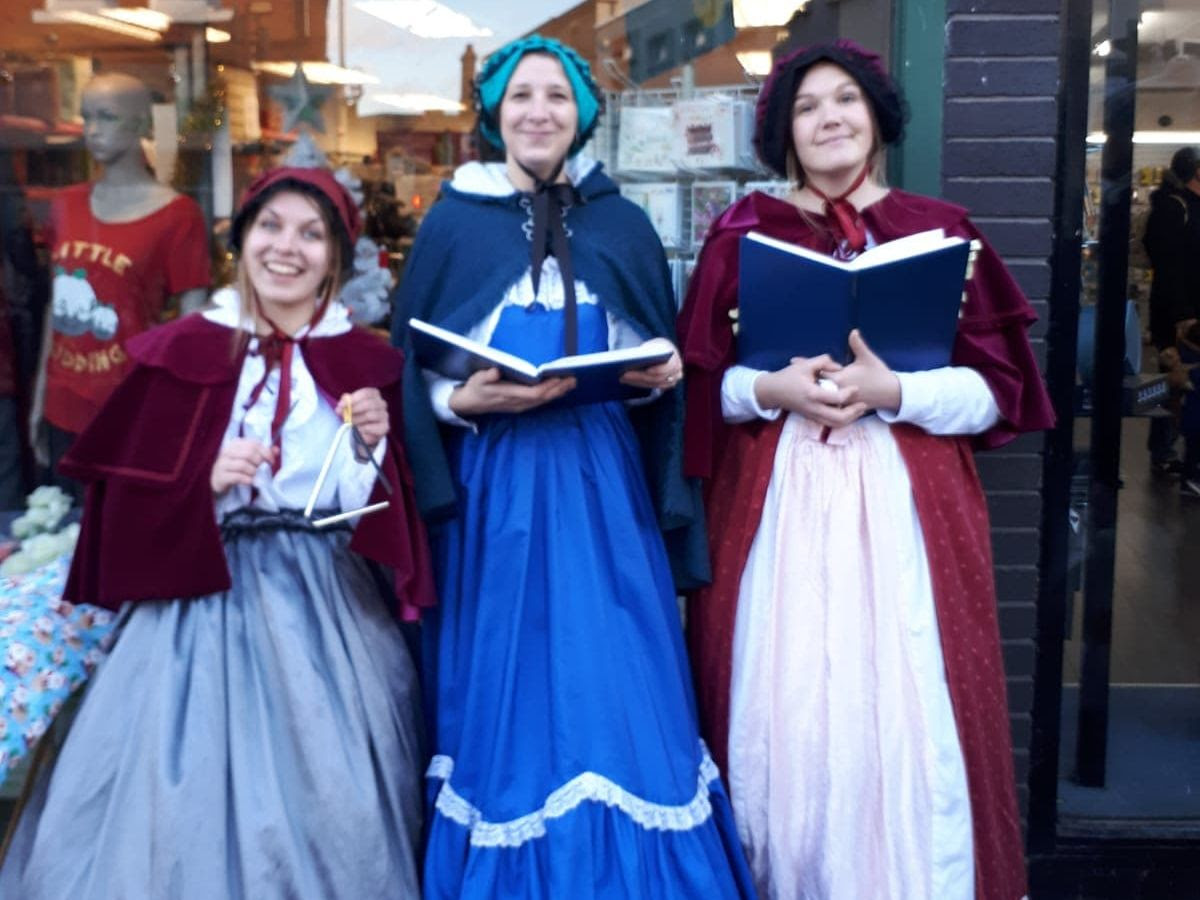 Victorian Carolers from Same Difference Arts