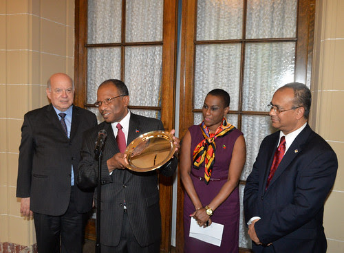 OAS Permanent Council Bids Farewell to the Permanent Representative of Haiti