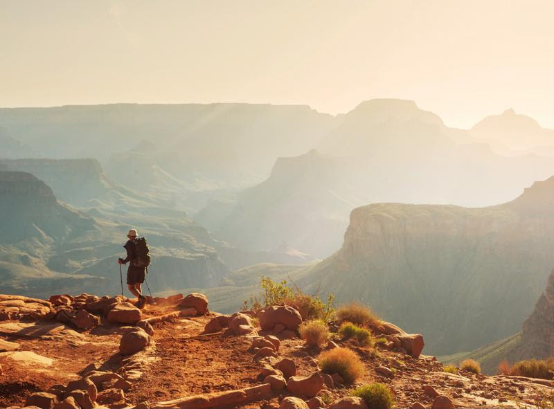 The Grand Canyon is a classic family vacation destination.