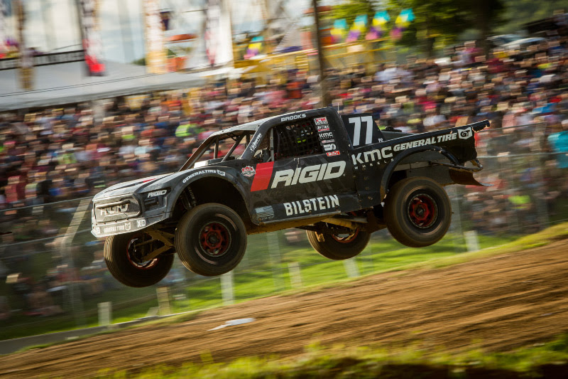 Jerett Brooks, Rigid Industries, Crandon Off Road, General Tire, Bilstein, KMC Wheels, Bink Designs