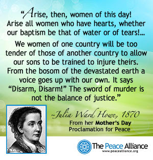 Mother's Day Peace Proclamation