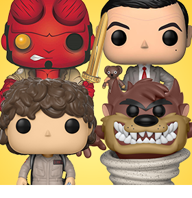 POP! FRAGGLE ROCK, STRANGER THINGS, LOONEY TUNES, & MORE!