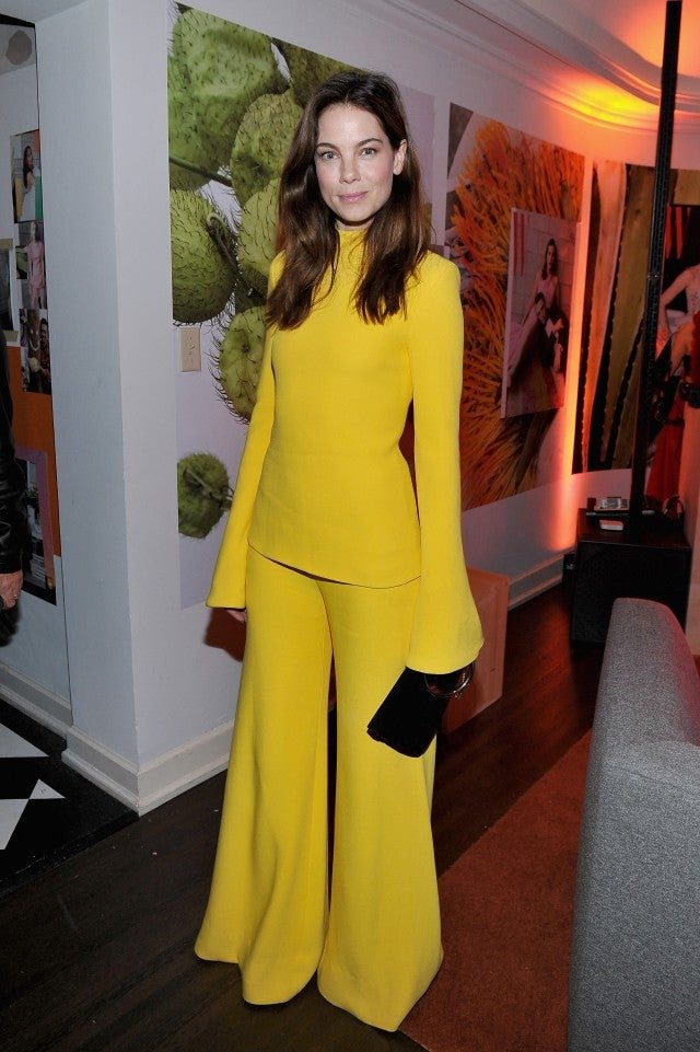 Michelle Monaghan at W Mag party