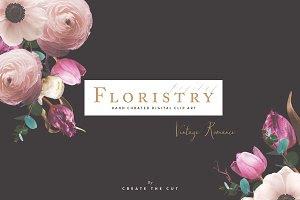 Digital Floristry - Vintage Romance