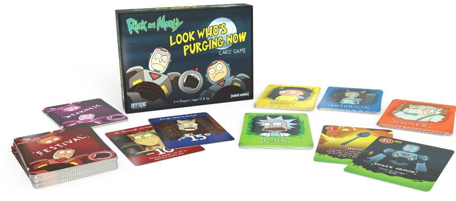 Rick and Morty: Looks Who's Purging Now Card Game