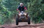 Milton Martens garantiu o título nos quadriciclos (Doni Castilho/DFotos)