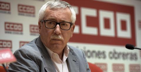 El secretario general de CCOO, Ignacio Fernández Toxo./ EFE/ Ismael Herrero./ EFE/ Ismael Herrero