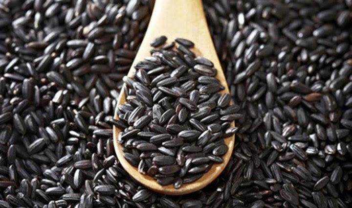 Gạo nếp cẩm có thành phần dinh dưỡng cao.