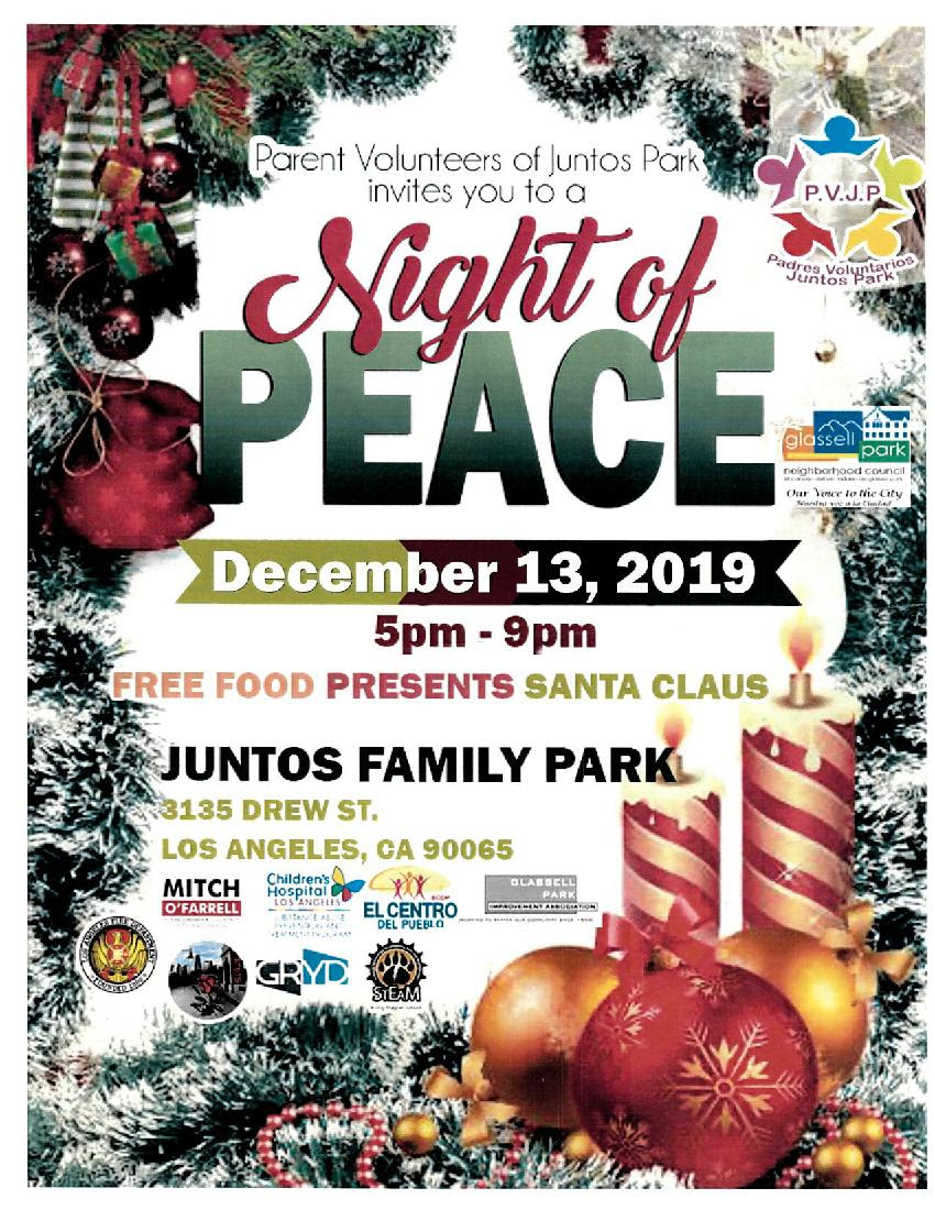 Night of Peace ENGLISH 12-13-19
